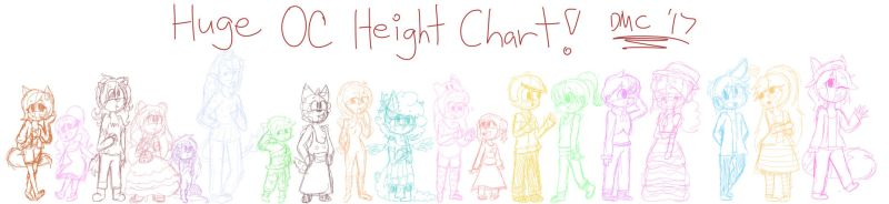 Height Chart by TheDMCArts
