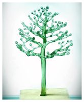 WIP green glass tree 2 by ivan12