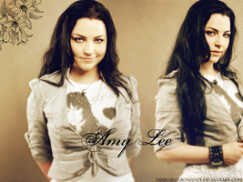 Amy Lee Wallpaper by Miserablexromance