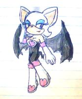 rouge the bat by ninpeachlover