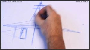 Learn how to draw city buildings 005 by drawingcourse