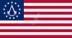 Assassin's Creed US Flag v.2 by k-h116