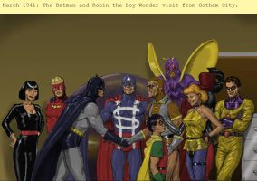 TLIID Batman 75 years - meets The Minutemen 2 by Nick-Perks
