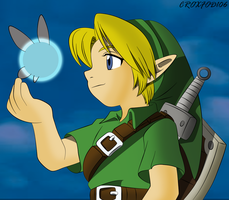 The Legend Of Zelda- Link and Tatl by Croxfod106