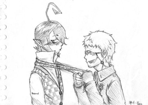 Ao no Exorcist: A Helping Hand by Knight-Pepper