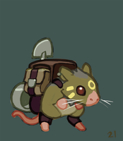 021 - Pack Rat by Malakym