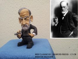 Sigmund Freud by x-culptor
