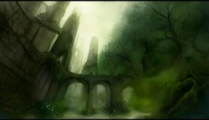 deep forest by fleeting-weathers