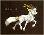 CE: Goldenrod Canterwit by DaffoDille