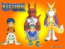 Digimon Wallpaper by secoh2000