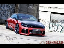 VW Scirocco by Pufferzsola