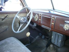 1939 Ford Deluxe sedan interior by RoadTripDog