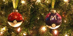 Pokeball Christmas Ornament by LethalPepsi