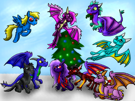 Christmas gift 2013 by Lydiadragon