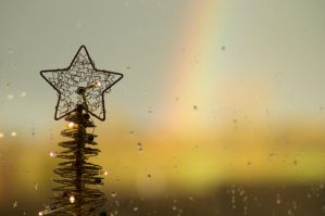 Rainbow Christmas by Kaz-D