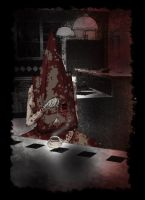 Pyramid Head - Teatime by akisiL