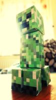 Creeper Papercraft by NatiHassansin