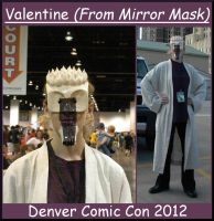 Valentine Costume/ Mask by sitres