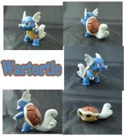 Weekly Sculpture: Wartortle by ClayPita
