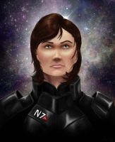 Shepard, The Legend by ErothBlackDragon
