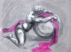 suspended life drawing nov '12 #3 by Di---Chan