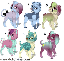 Spaggle point adopts by freaking-adopts