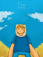Adventure Time | Finn the human by Lazorite