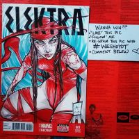 Elektra GIVEAWAY! by weshoyot