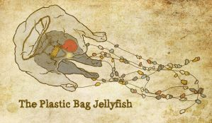 Plastic Bag Jellyfish 2 by michaelharris