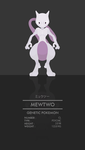 Mewtwo by WEAPONIX