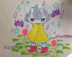 Lala sinign my song in the rain by Kookapurra