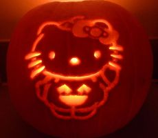 HelloKitty Halloween09 Pumpkin by katrivsor