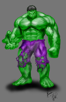 The Hulk by SE7EN-OF-N9NE