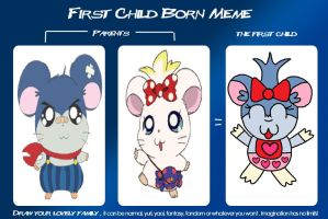 First Child Born Meme! (Cindy) by PenelopeHamuChan