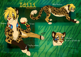 Idili Ref by MatrixPotato