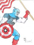 Captain America for Cody by DoctorFantastic
