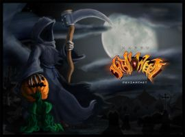 Happy Haloween Deviantart by Kraden