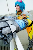 Neon strike vi cosplay :) by spacechocolates