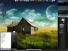 Stylish Desktop 08 by Dr-Bee