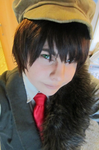 Hunter!Spain cosplay hetalia by Returnmemory