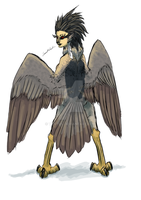 Day 1: Harpy by tantus