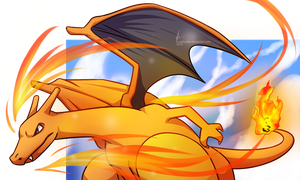 Charizard by YuzaHunter