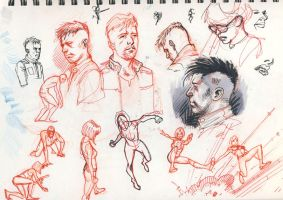 Sketchbook 5 by DylanTeague