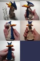 Typhlosion Chess King by ChibiSilverWings