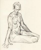 figure drawing by angelac