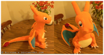Charizard Plush by Allyson-x