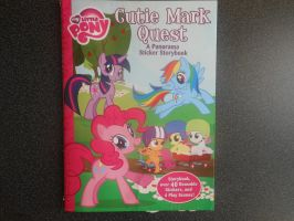 Cutie Mark Quest Storybook by RarityLuver214