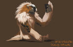 I am a civilified Giant Fluffy Bird Man... + Video by Tytoquetra