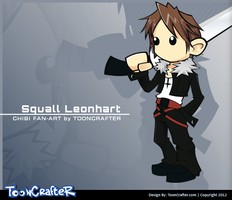 Chibi Squall by hackerkuper