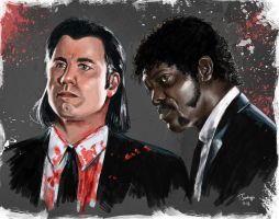 Pulp Fiction by tsantiago